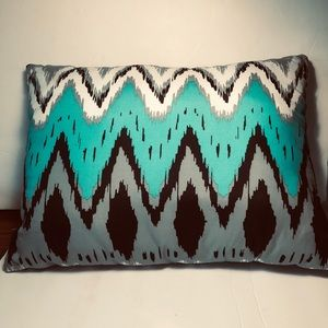 Mainstay Pillow Green Grey 16x12 in